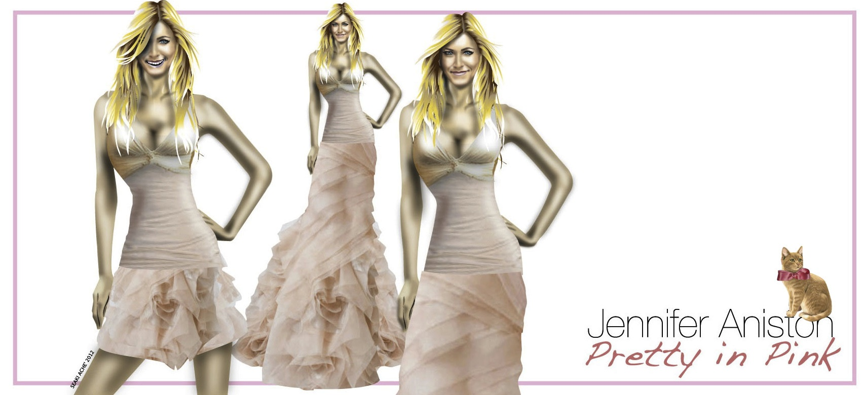 Jennifer Aniston Is Engaged / Wedding Dress Design – Lesson In ...