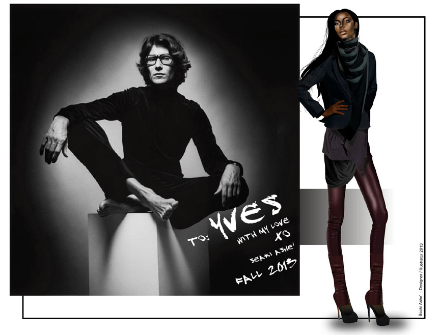To: Yves Saint Laurent, With All My Love – Rethinking Fall ...